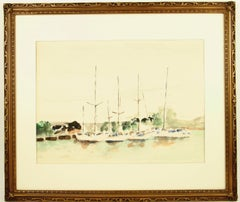 White Drawings and Watercolor Paintings