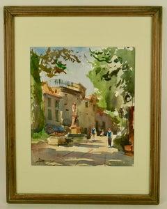 Aix en Provence Watercolor