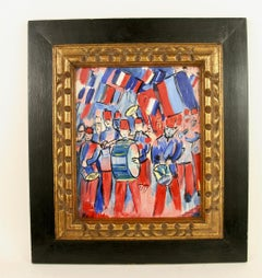 French Band Painting