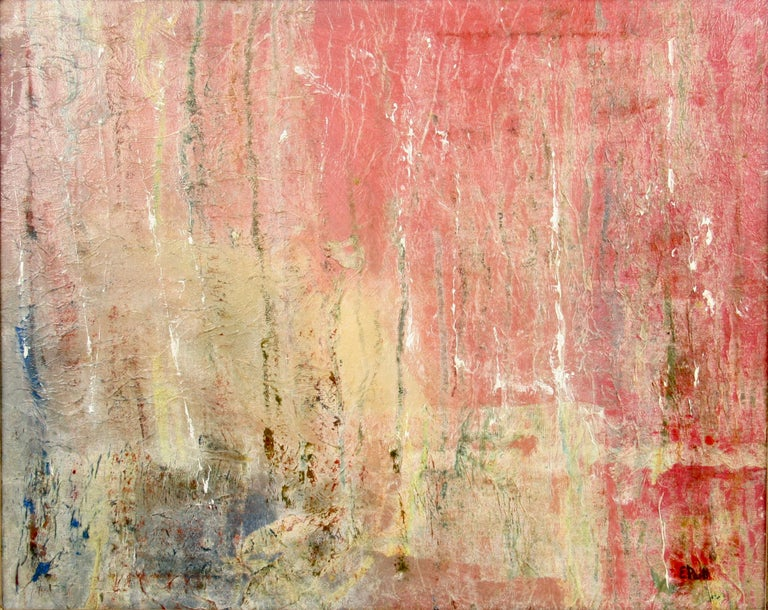 e parti color explosion abstract painting for sale at 1stdibs