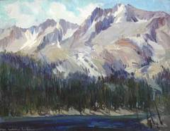 Sierra Mountain Lake