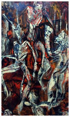 Goya-Style Aquelarre Abstract