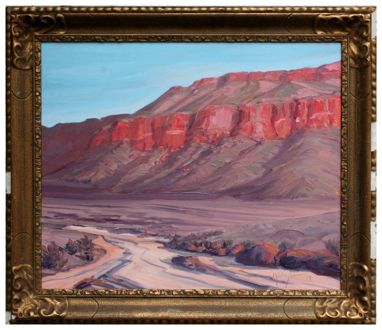 Desert Bluff Landscape