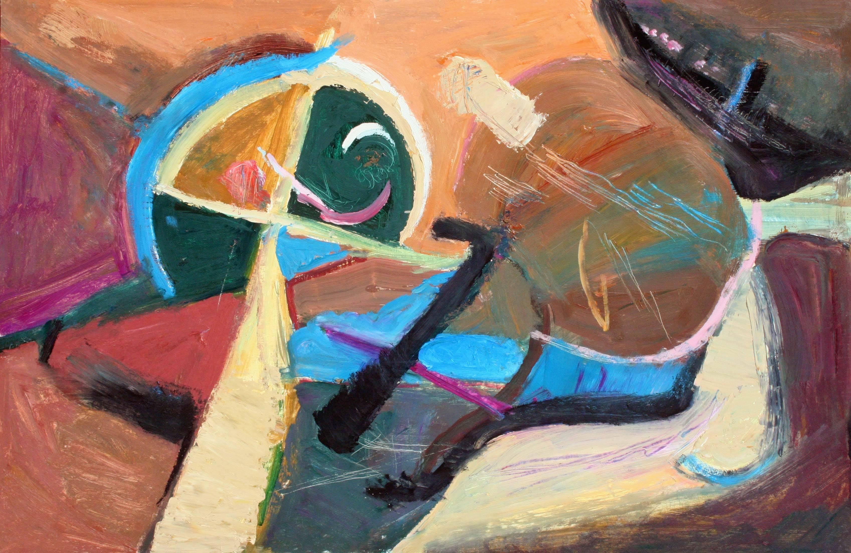 Horizontal Abstract #9