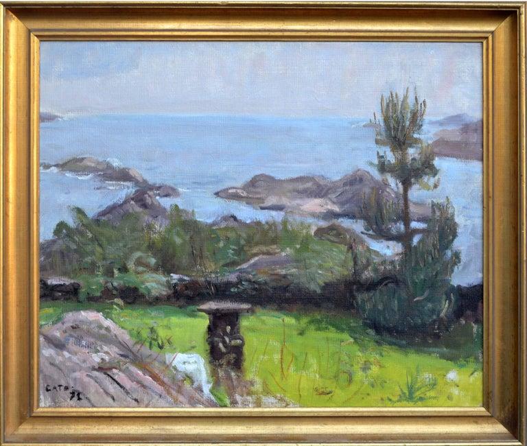 Hendrik Cate Landscape Painting - Coastal Waters