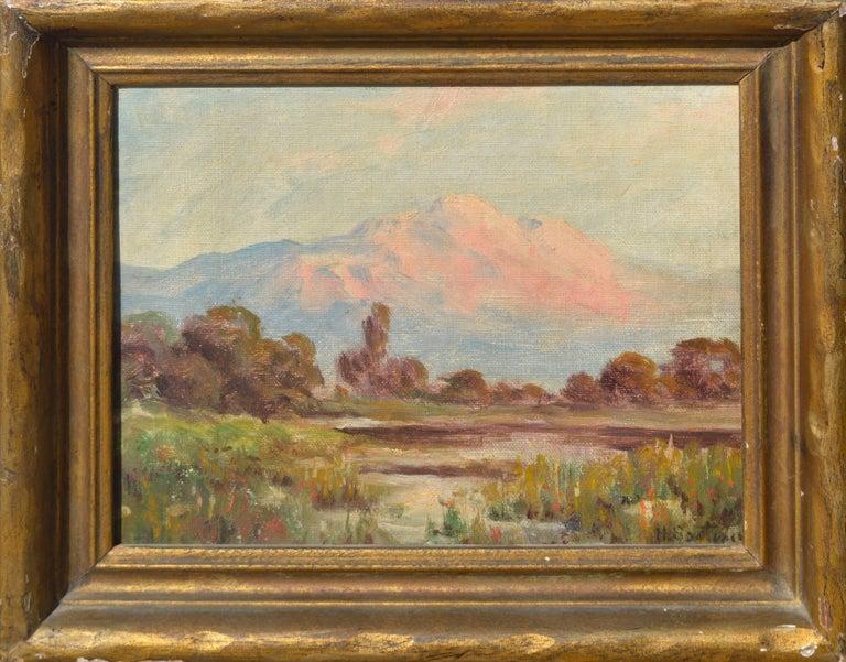 Herbert Sartelle Landscape Painting - Mount Tamalpais California