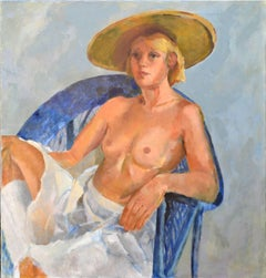 The Blue Chair Figurative