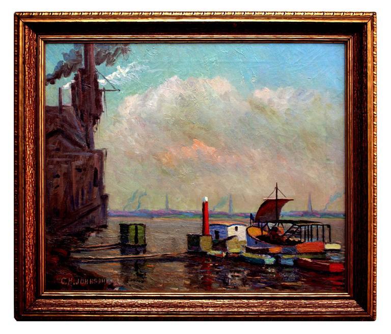 Charles Johnson Gloucester Harbor For Sale At 1stdibs