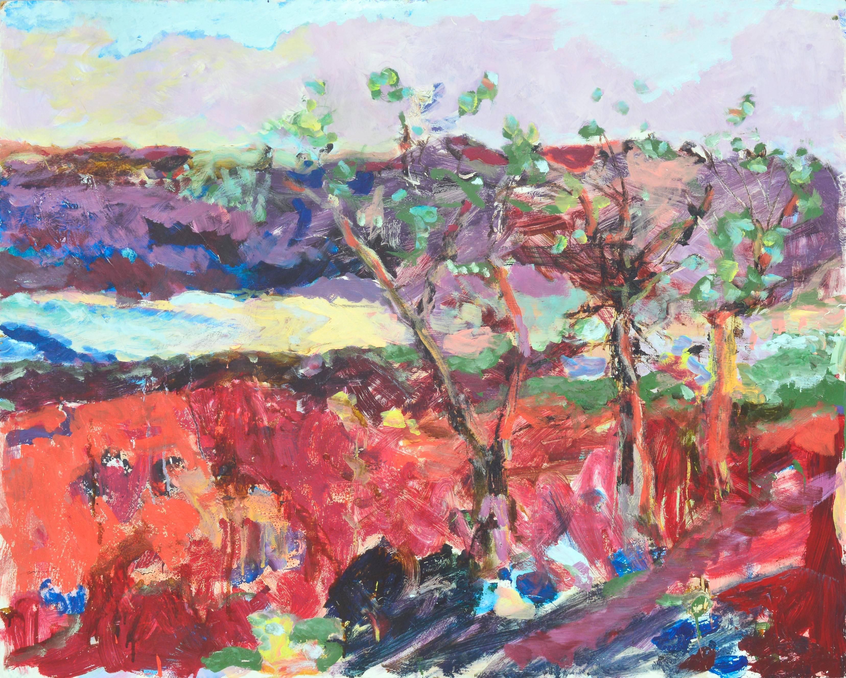 Carmel Cove Abstract Landscape