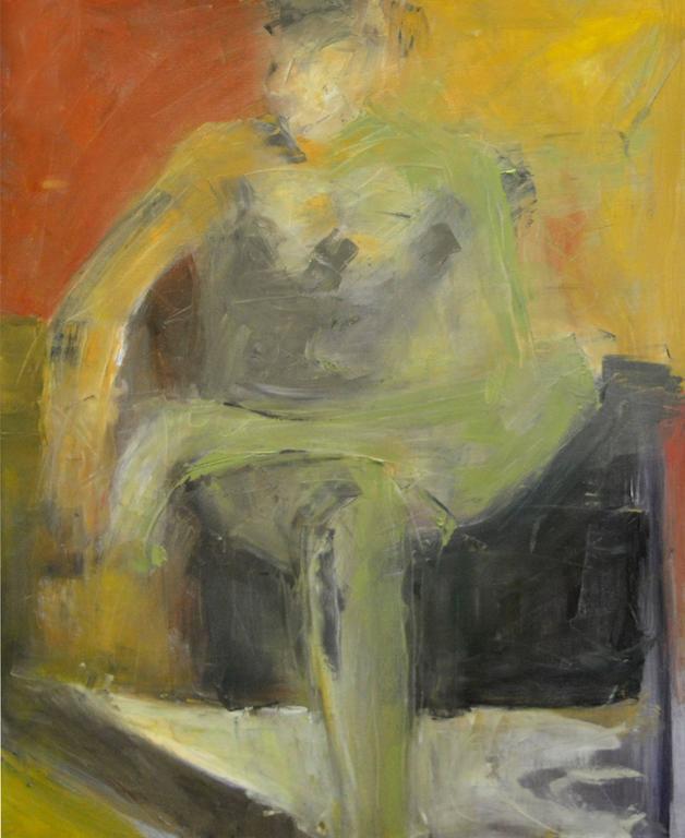Daniel David Fuentes Figurative Painting - Figurative abstract