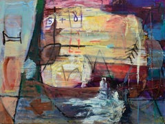 Artists Studio Abstract Expressionist