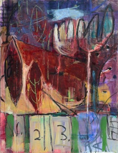 Front Yard Abstract Expressionist Landscape