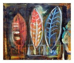 Three Mysteries Abstract Expressionist