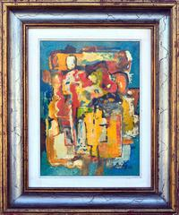 Abstract Composition IX