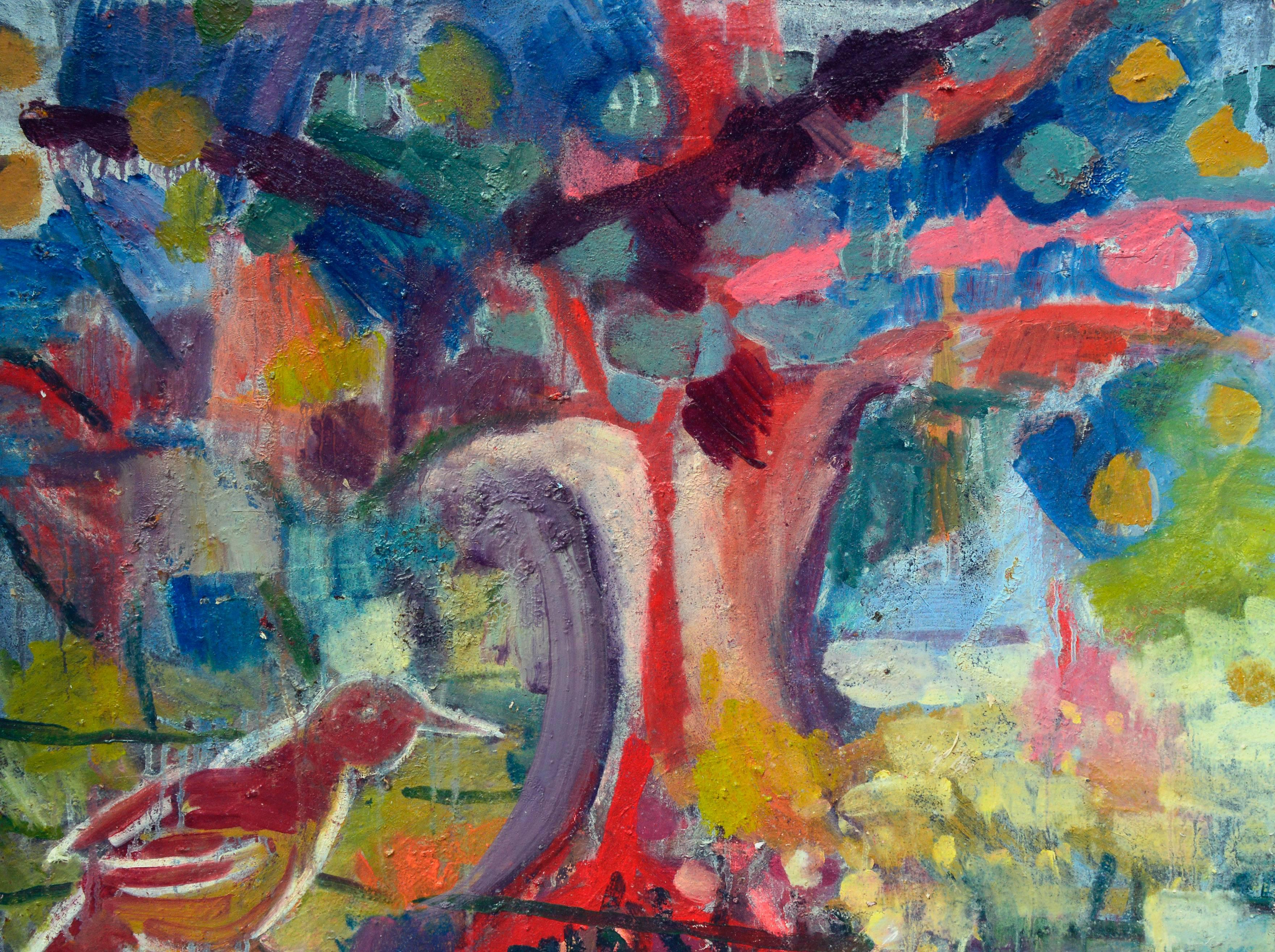 Empty Nest Abstract Expressionist