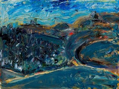 Bay Area Abstracted Landscape