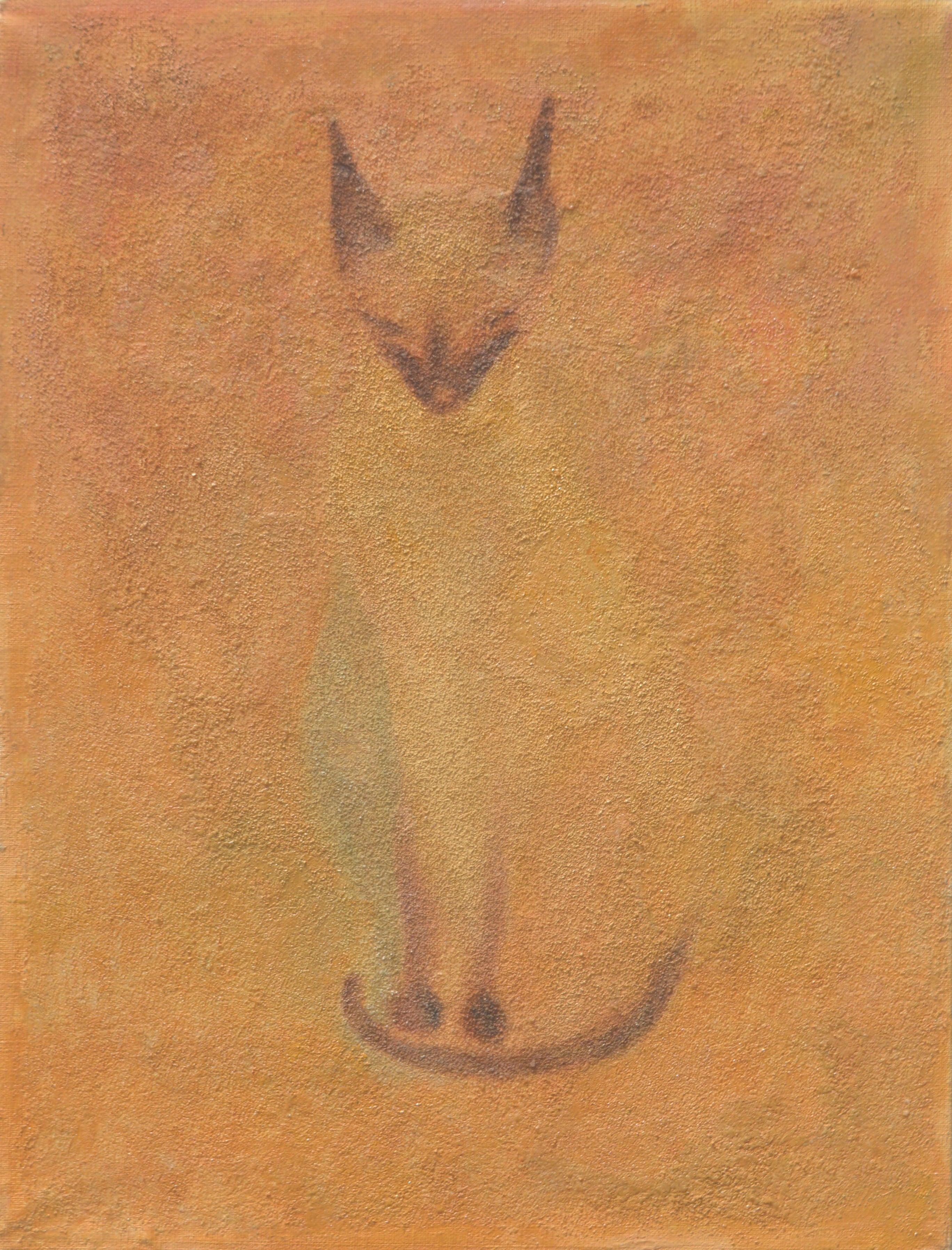 Mid Century Modernist Siamese Cat, 1953