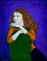 Girl in Lavender