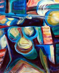 Artists Studio Abstract