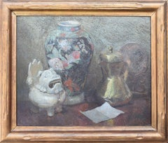 Still Life with Japanese Shisa