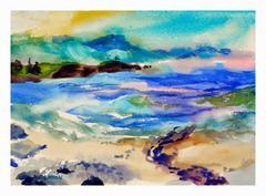 Big Sur Pastel Seascape
