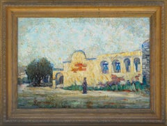 Early 20th Century Mission San Juan Capistrano Landscape