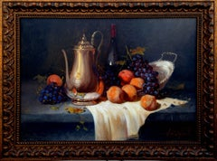Pears & Grapes Still Life