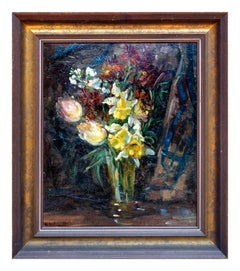 Late 19th Century Floral Bouquet Still-Life