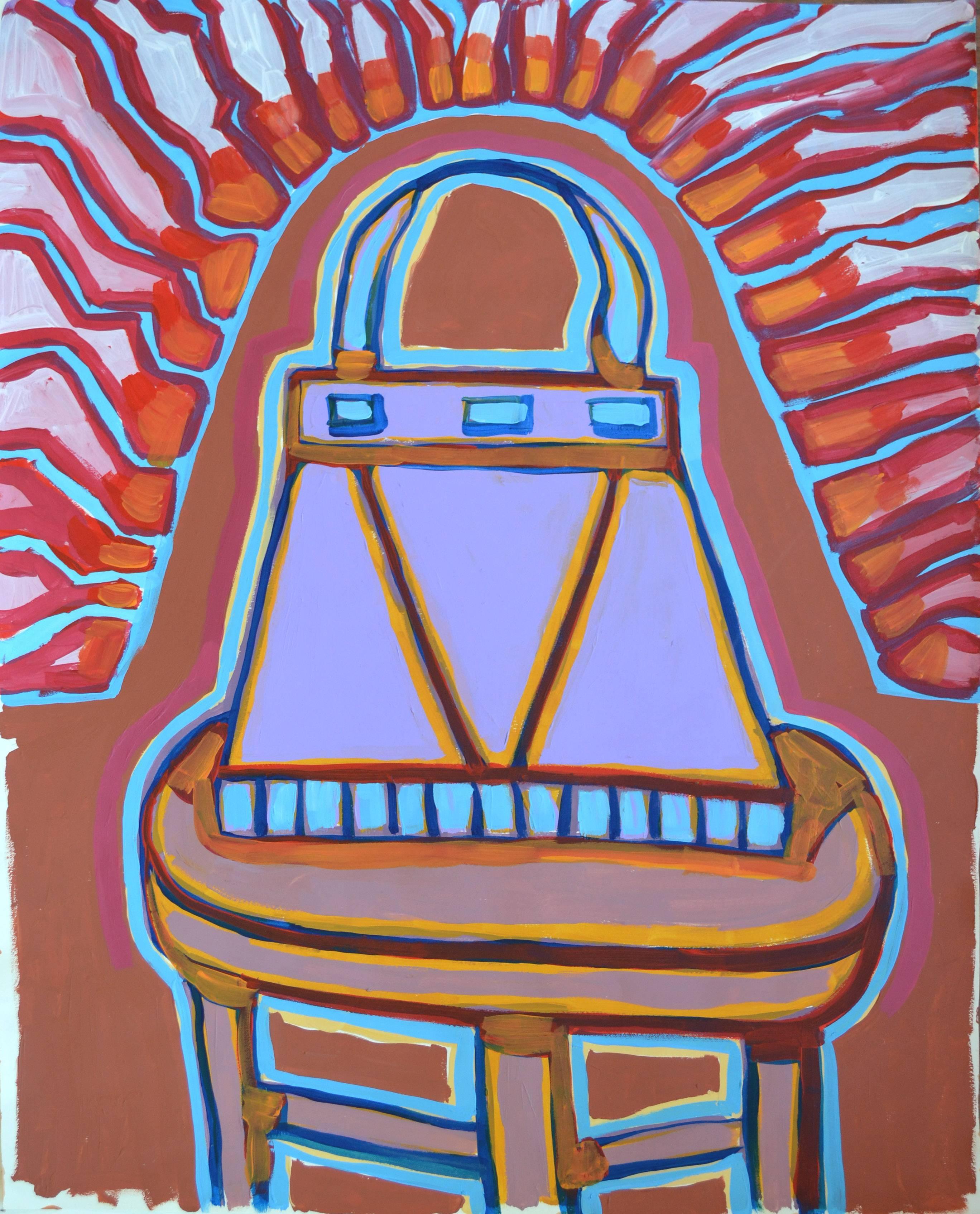 Electric Handbag Abstract