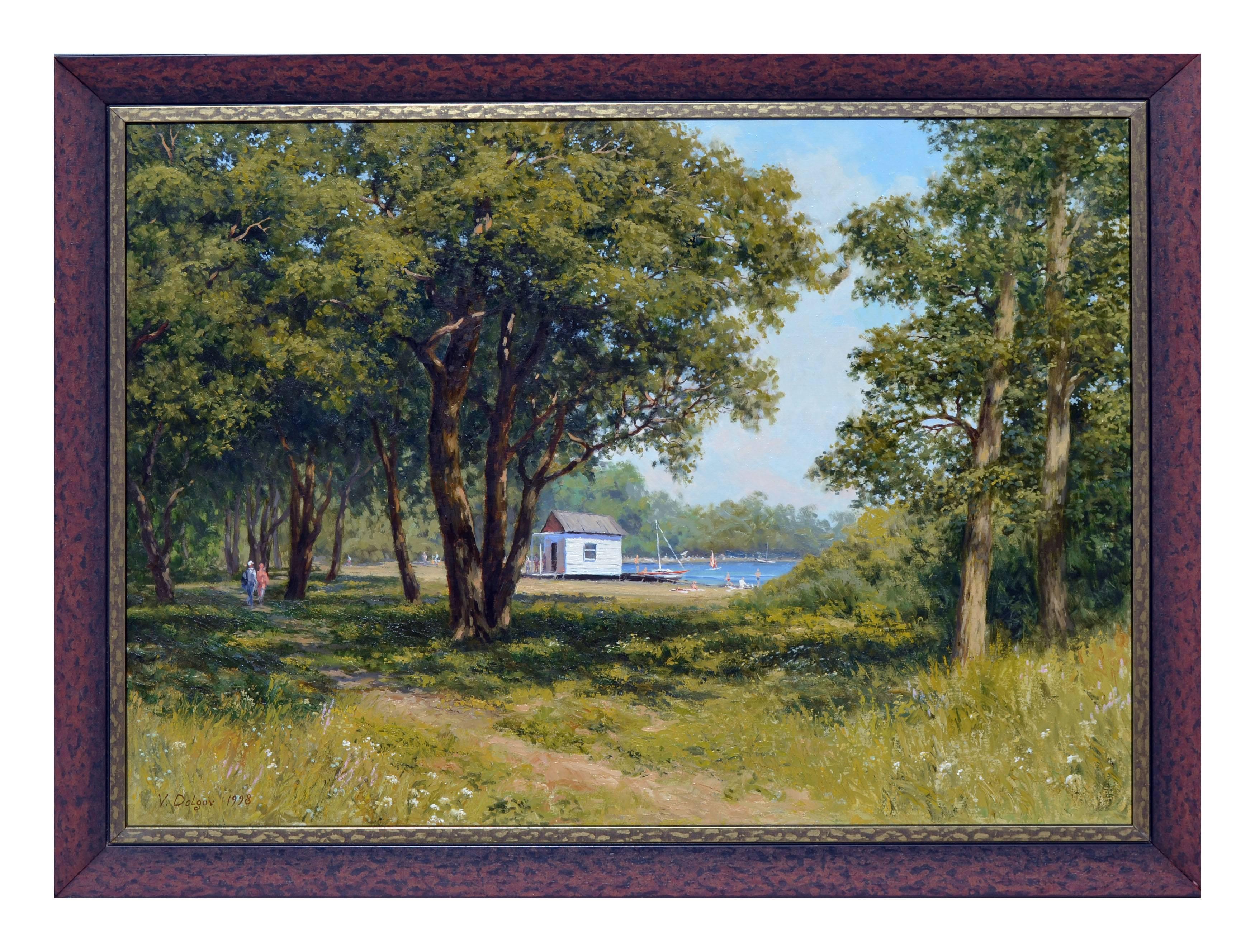 Summer at the Lake Landscape