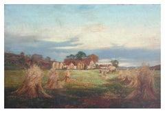 19th Century Landscape -- The Ingathering