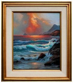 Ocean Storm Seascape