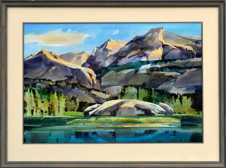 Dale Laitinen Landscape Painting - Wilderness Pass