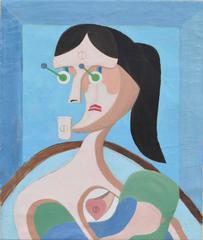 Constructivist Portrait of Woman