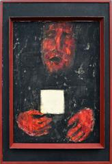 Red Hands White Card