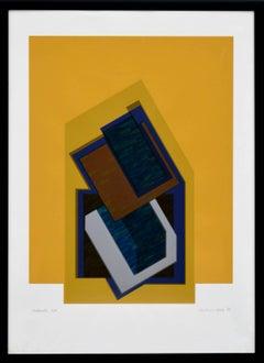 Moderato - Abstract Geometric Screen Print