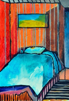 The Fauvist Bedroom