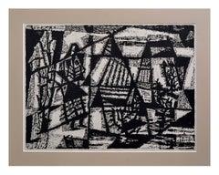 Woodblock Abstract