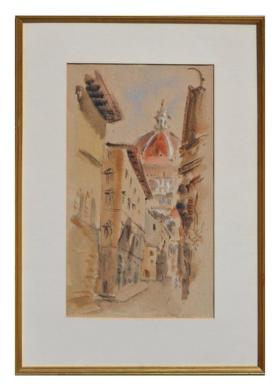 Betty guy street in florence painting at 1stdibs