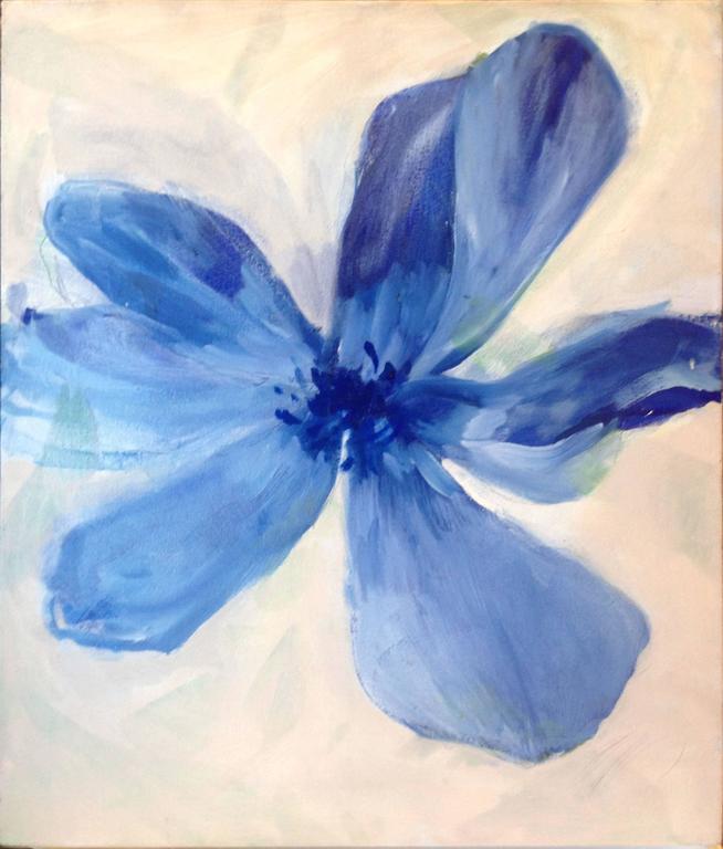 Blue Flower Zen