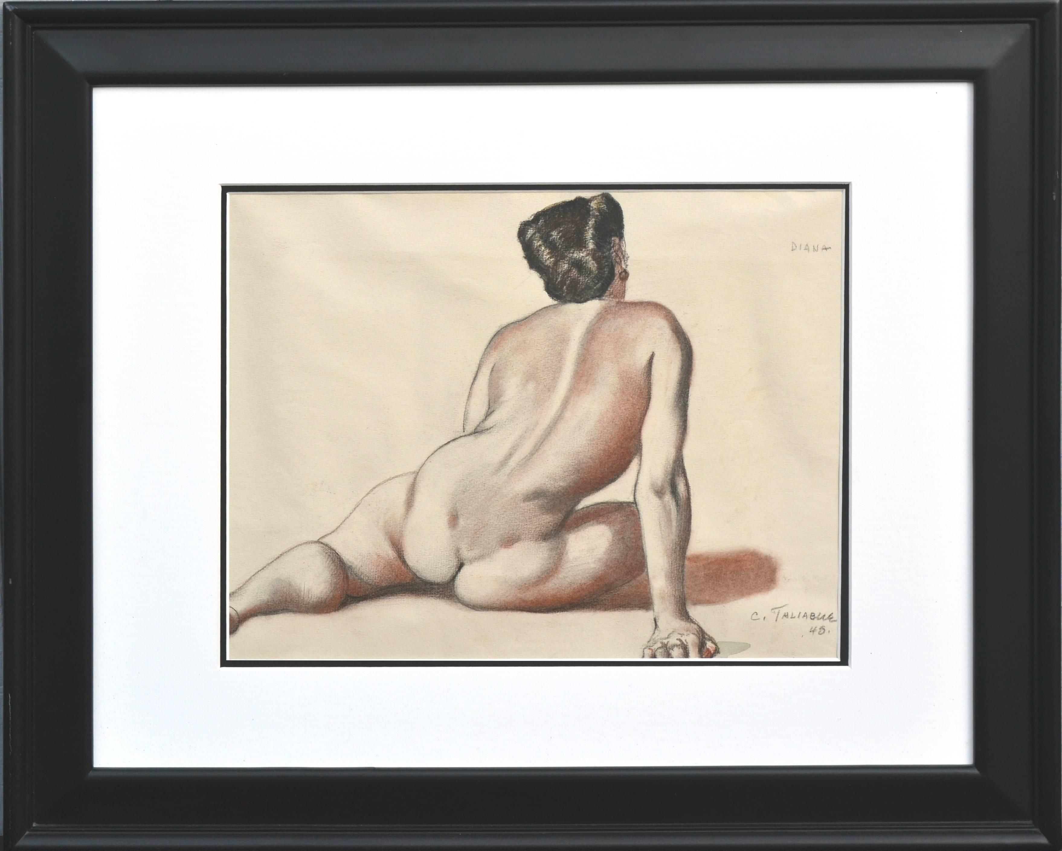 Nude Study, Diana 1948