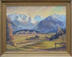 Mid Century Austrian Alps - Franz Weissberger
