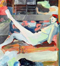 Nude Reclining, Bay Area Figurative Movement