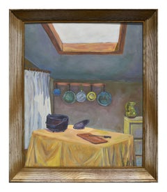 Mid Century Country Kitchen Interior