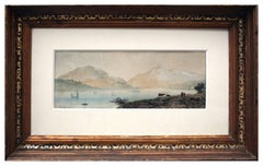 19th Century Loch Tay Scottish Landscape