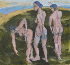 Women in Motion (Three Graces) Lora Sprague