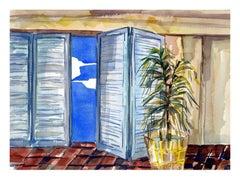 The Patio's Open Door