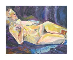 Mid-century Abstracted Nude