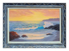 Ocean Sunset by Cecil Chamberlain