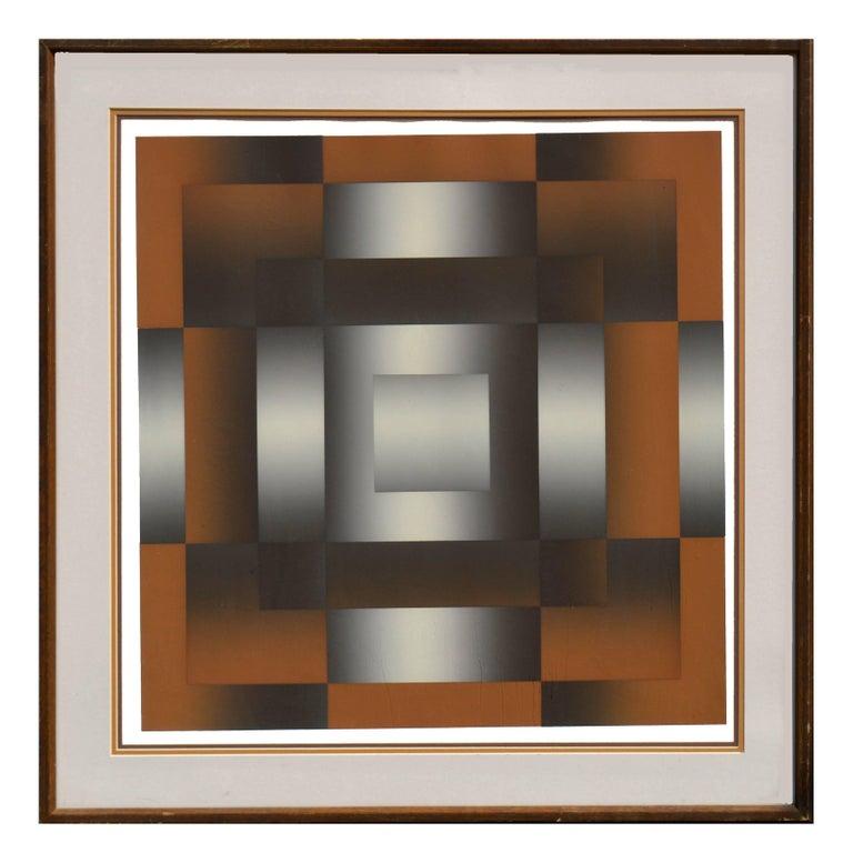 Mark Rowland Abstract Print - Nova Abstract